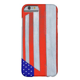 米国の旗の横断歩道のiPhone 6/6sの電話箱 Barely There iPhone 6 ケース