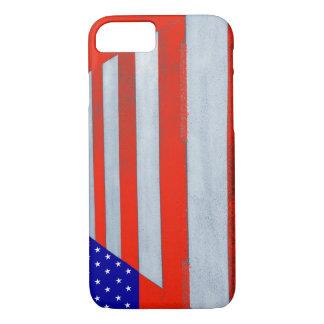 米国の旗の横断歩道のiPhone 7の電話箱 iPhone 8/7ケース