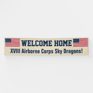 米国の旗の砂漠の歓迎の家のカスタムの旗 横断幕