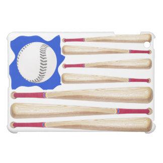 米国の旗の野球のテーマ iPad MINIケース