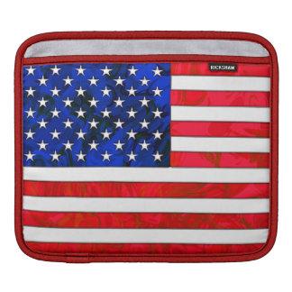 米国の旗のiPadの袖 iPadスリーブ