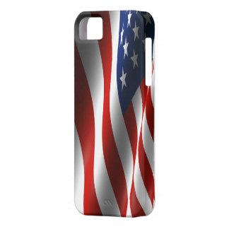 米国の旗のIphoneの場合 iPhone 5 カバー