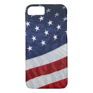 米国の旗のiPhone 7のやっとそこに場合 iPhone 8/7ケース