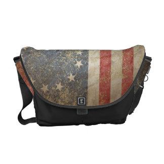 米国の旗1776年 メッセンジャーバッグ