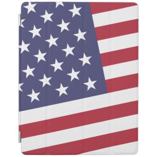米国の旗-アメリカを祝って下さい-独立記念日 iPadスマートカバー
