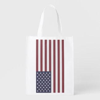 米国の旗 エコバッグ