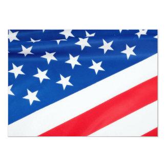 米国の旗 カード