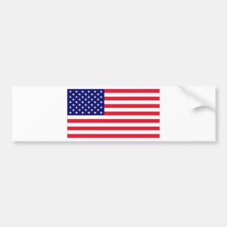 米国の旗 バンパーステッカー