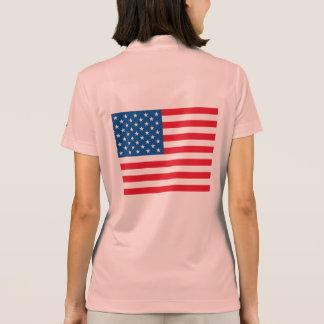 米国の旗 ポロシャツ