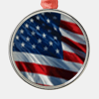 米国の旗 メタルオーナメント