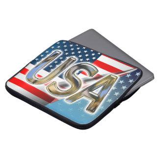 米国の旗 ラップトップスリーブ