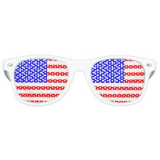 米国の旗 レトロサングラス