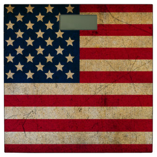 米国の旗 体重計