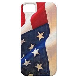 米国の旗-古い栄光のアメリカのプライド iPhone SE/5/5s ケース
