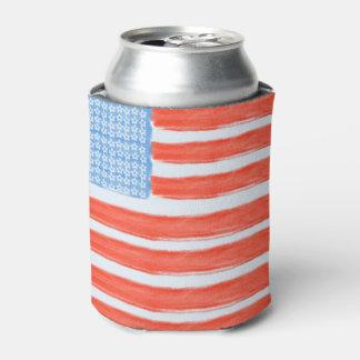 米国の旗 缶クーラー