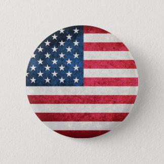 米国の旗 缶バッジ