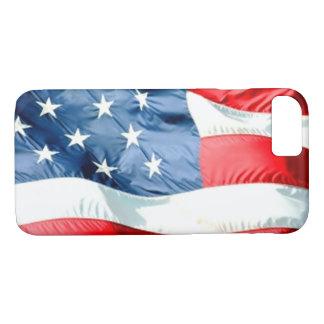 米国の旗 iPhone 8/7ケース