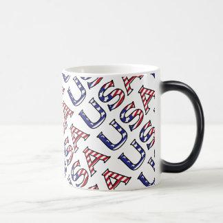 米国の星条旗 モーフィングマグカップ