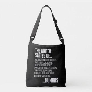 米国の暗い吊り鎖のバッグ クロスボディバッグ