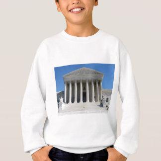 米国の最高裁判所の建物 スウェットシャツ