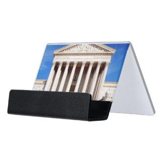 米国の最高裁判所の建物、Washington D.C.、米国 デスク名刺ホルダー