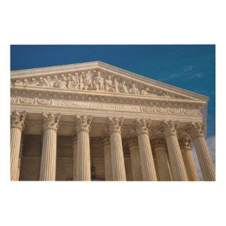 米国の最高裁判所 ウッドウォールアート