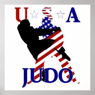 米国の柔道 ポスター