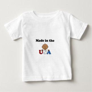米国の民族のTシャツで作られる ベビーTシャツ