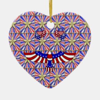 米国の気球飛行 セラミックオーナメント