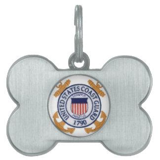 米国の沿岸警備隊Emblem1 ペットネームタグ