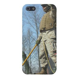 米国の海兵隊の下士官は親指をあきらめます iPhone SE/5/5sケース