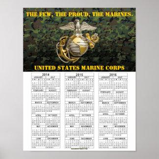 米国の海兵隊員 ポスター