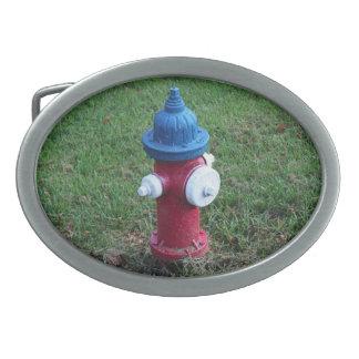 米国の消火栓 卵形バックル