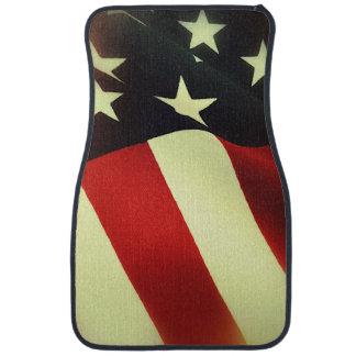 米国の生地の旗 カーマット