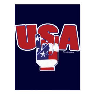 米国の石! 7月4日 ポストカード