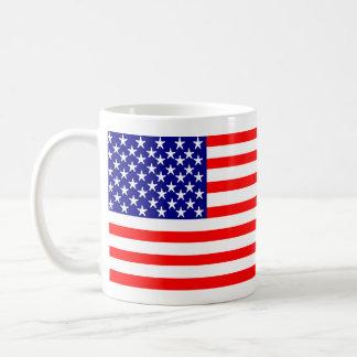 米国の米国旗の星条旗 コーヒーマグカップ