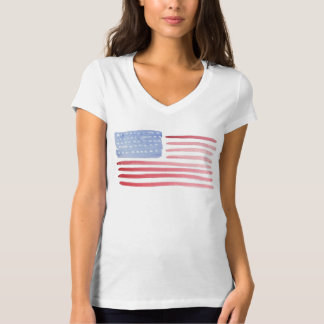 米国の米国旗のTシャツ Tシャツ