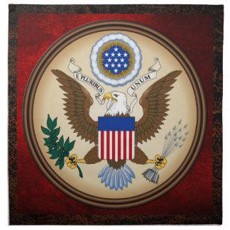 米国の素晴らしいシール ナプキンクロス