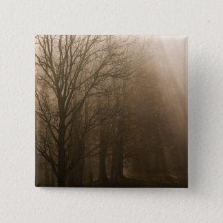 米国の素晴らしい煙山NPテネシー州の木 5.1CM 正方形バッジ