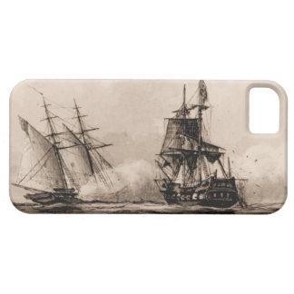 米国の船のスクーナー船企業 iPhone SE/5/5s ケース