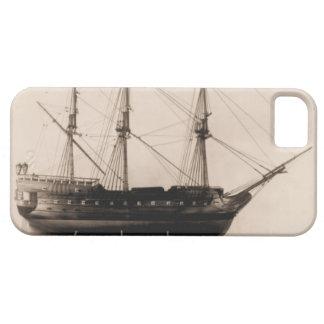米国の船のBonhommeリチャードモデル iPhone SE/5/5s ケース
