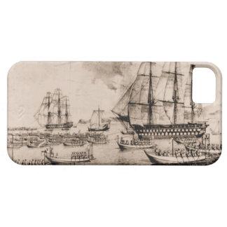 米国の船コロンブス1815年 iPhone SE/5/5s ケース