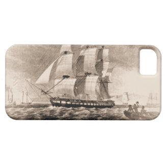 米国の船ヒューストン1819年 iPhone SE/5/5s ケース