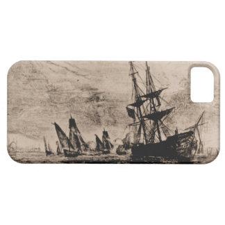 米国の船フィラデルヒィア1800年 iPhone SE/5/5s ケース