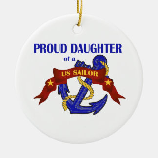 米国の船員のオーナメントの誇り高い娘 セラミックオーナメント