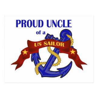 米国の船員の誇り高い叔父さん ポストカード