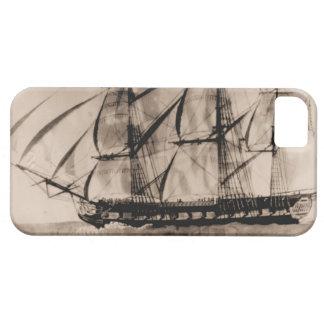 米国の船Essex 1800年 iPhone SE/5/5s ケース