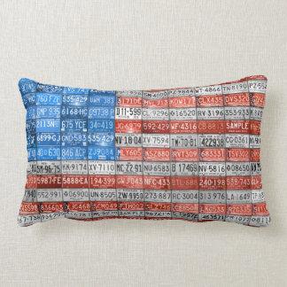 米国の装飾用クッションのナンバープレートの旗 ランバークッション