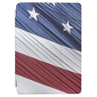 米国の赤、白くそして青のアメリカの愛国心が強い旗 iPad AIR カバー