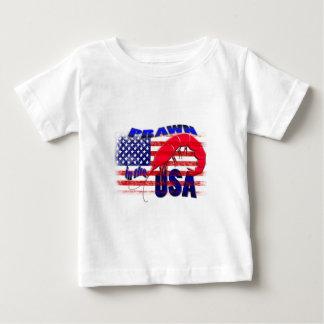 米国の車海老 ベビーTシャツ